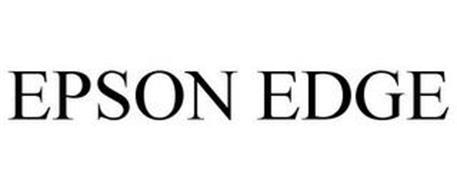 EPSON EDGE Trademark of Seiko Epson Kabushiki Kaisha