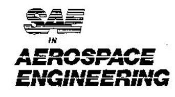 SAE IN AEROSPACE ENGINEERING Trademark of Society of