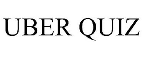 UBER QUIZ Trademark of Sony Computer Entertainment Europe