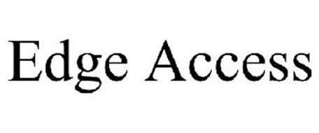 EDGE ACCESS Trademark of Sony Corporation Serial Number