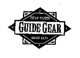 FIELD TESTED GUIDE GEAR SINCE 1977 NWES Trademark of