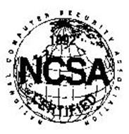 NATIONAL COMPUTER SECURITY ASSOCIATION NCSA CERTIFIED