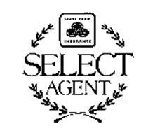 STATE FARM INSURANCE AUTO LIFE FIRE SELECT AGENT Trademark