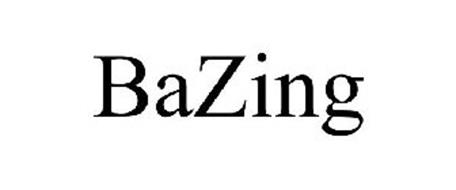 BAZING Trademark of StrategyCorps, LLC. Serial Number