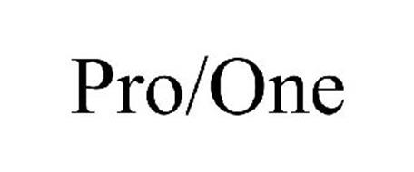 PRO/ONE Trademark of Strix Systems, Inc. Serial Number