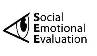 SOCIAL EMOTIONAL EVALUATION Trademark of Super Duper