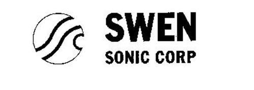 SSC SWEN SONIC CORP Trademark of SWEN SONIC CORPORATION