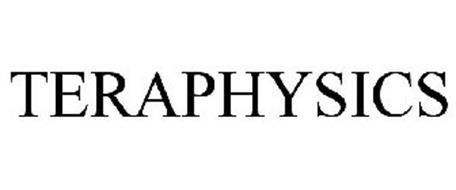 TERAPHYSICS Trademark of Teraphysics Corporation. Serial