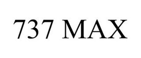 737 MAX Trademark of THE BOEING COMPANY. Serial Number
