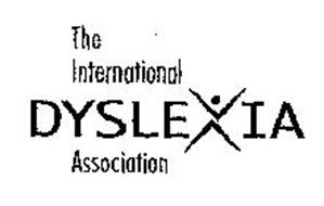 THE INTERNATIONAL DYSLEXIA ASSOCIATION Trademark of THE