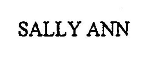 SALLY ANN Trademark of The Salvation Army Serial Number