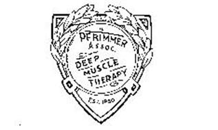 PFRIMMER ASSOC. DEEP MUSCLE THERAPY EST. 1980 Trademark of