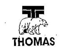 T THOMAS Trademark of THOMAS EQUIPMENT 2004 INC. Serial
