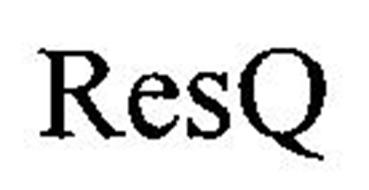 RESQ Trademark of TOWERS WATSON SOFTWARE LIMITED. Serial