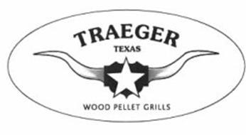 TRAEGER TEXAS WOOD PELLET GRILLS Trademark of Traeger