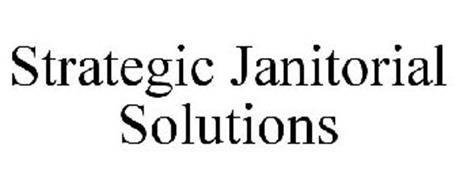 STRATEGIC JANITORIAL SOLUTIONS Trademark of TRT