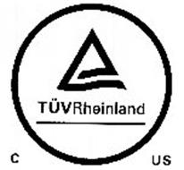 TÜV RHEINLAND C US Trademark of TUV Rheinland of North