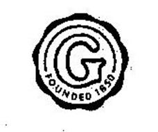 G FOUNDED 1850 Trademark of TYCO FIRE & SECURITY LLC