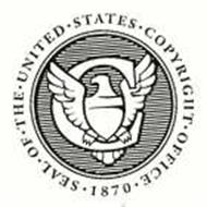 SEAL OF THE UNITED STATES COPYRIGHT OFFICE 1870 Trademark