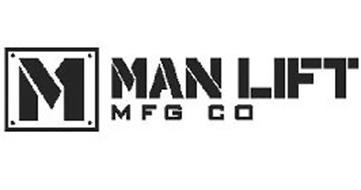M MAN LIFT MFG CO Trademark of Universal Mfg. Co. Serial
