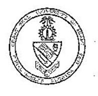 GREAT SEAL UNIVERSITY OF MIAMI CORAL GABLES FLORIDA 1925