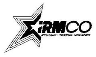IRMCO INTERAGENCY · RESOURCES · MANAGEMENT Trademark of U