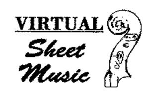 VIRTUAL SHEET MUSIC Trademark of Virtual Sheet Music, Inc