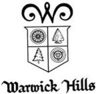 W WARWICK HILLS Trademark of Warwick Hills Golf and