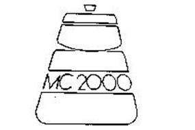 MC 2000 Trademark of WEST BEND COMPANY, THE. Serial Number