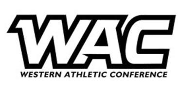 WAC WESTERN ATHLETIC CONFERENCE Trademark of Western