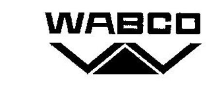 WABCO W Trademark of WESTINGHOUSE AIR BRAKE COMPANY