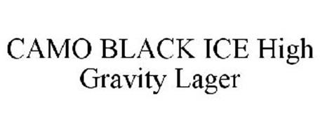 CAMO BLACK ICE HIGH GRAVITY LAGER Trademark of Williams