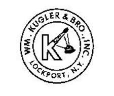 WM. KUGLER & BRO., INC. LOCKPORT, N.Y. Trademark of Wm