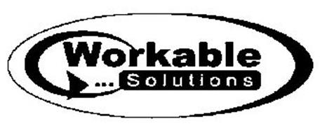 WORKABLE SOLUTIONS Trademark of Workable Solutions