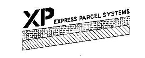XP EXPRESS PARCEL SYSTEMS Trademark of XP International B