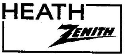 HEATH ZENITH Trademark of Zenith Electronics Corporation