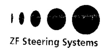 ZF STEERING SYSTEMS Trademark of ZF LENKSYSTEME GMBH