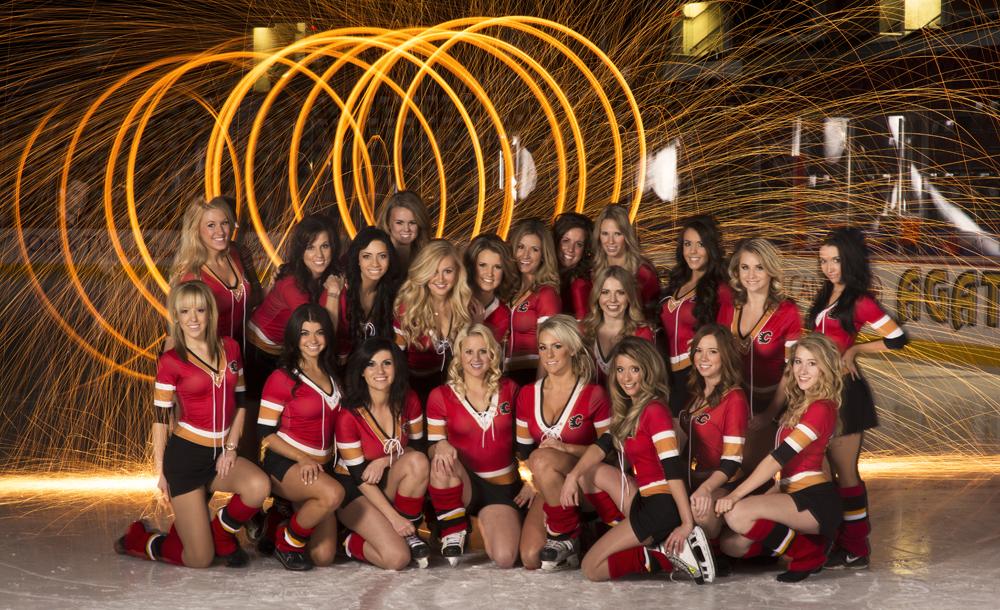20132014 Calgary Flames Fire  Ice Crew  Mark Eleven