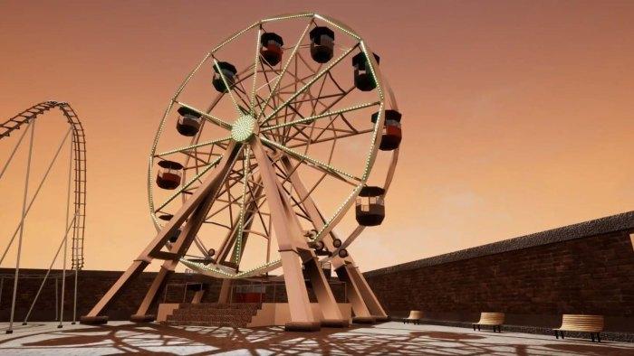 3D Model Ferris Wheel