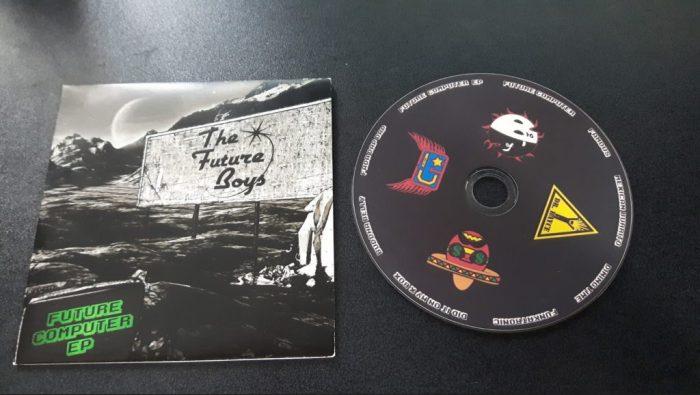 The Future Boys Album Design printed