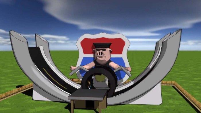 3d animation Rpad Rage