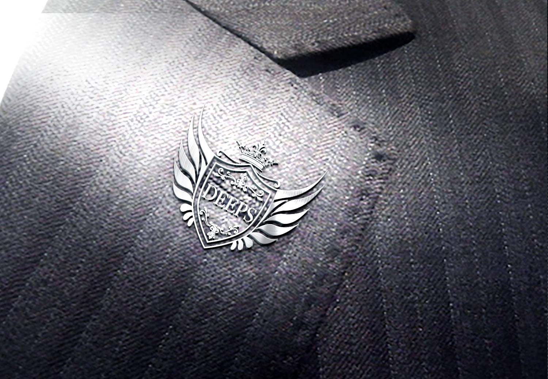 DEEPのロゴを社章にした想定画像