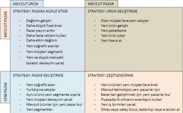 ansoff matrisi örneği