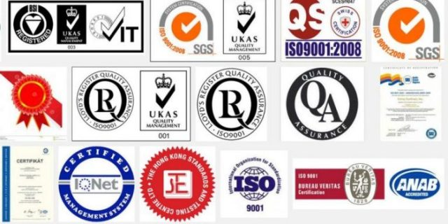 kalite sertifikası