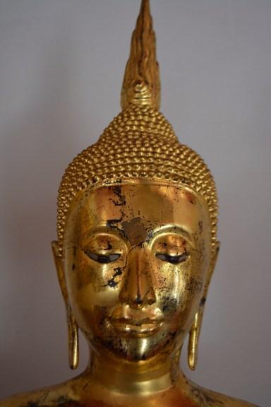Wat Pho - Bangkok Thailand - Golden Buddha sculpture