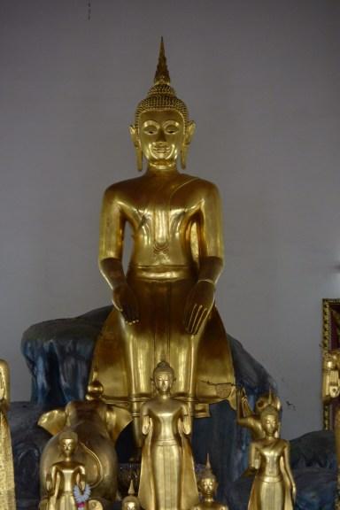 Wat Pho - golden Buddha images- Bangkok Thailand