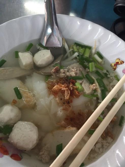 Noodle Soup - street food - Bangkok street food - Thailand