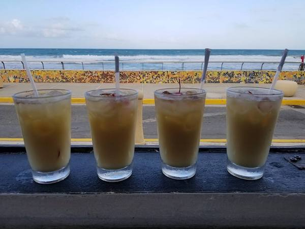 Purser's Painkiller - Luquillo Puerto Rico - Boardriders Surf Bar and Grill