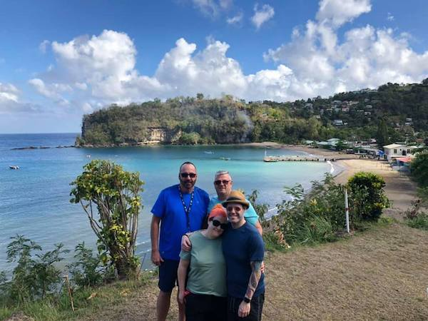 St Lucia - Cosol Tours - Sugar Beach - travel blogger - Southern Caribbean Cruise