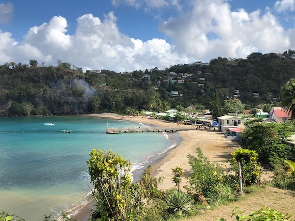 St Lucia - Sugar Beach - Cosol Tours - travel blogger